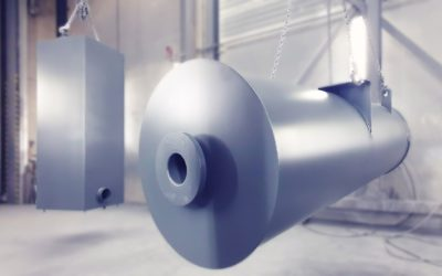 Compressed air silencers